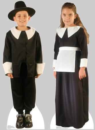Pilgrim Boy and Pilgrim Girl set