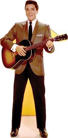 Elvis Presley - Sportscoat Guitar TALKING Lifesize Standup