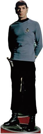 Star Trek - Classic Spock Leonard Nemoy Lifesize Standup