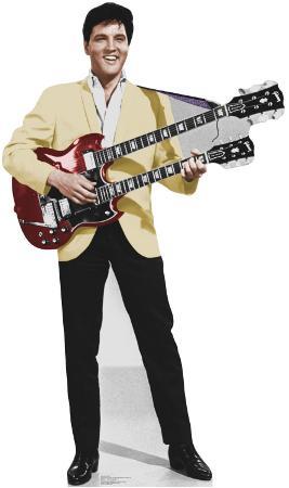 Elvis yellow Jacket Talking