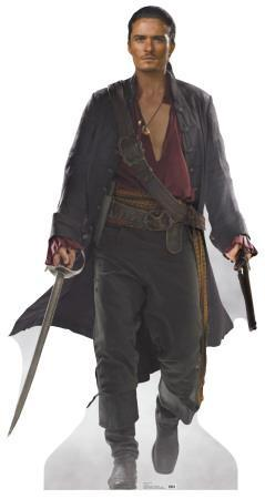 Pirates of the Carribean: At Worlds End - Will Turner Lifesize Standup