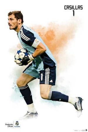 Real Madrid- Iker Casillas Sports Poster
