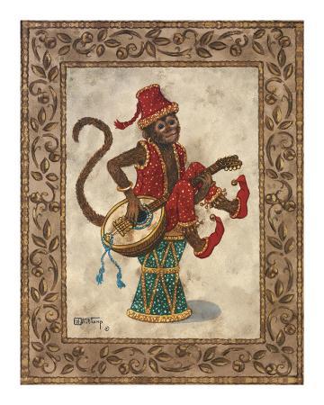 Monkey with Mandolin