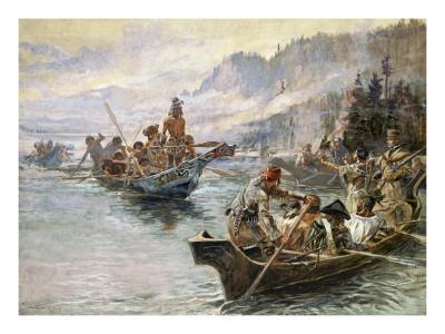 Lewis and Clark on the Lower Columbia