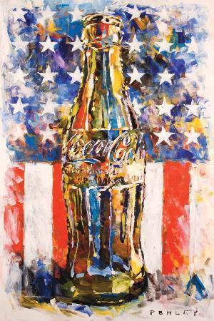 Coca Cola Star & Stripes Art