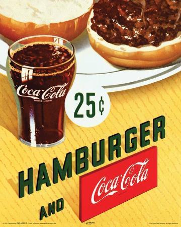 Coca Cola Hamburger