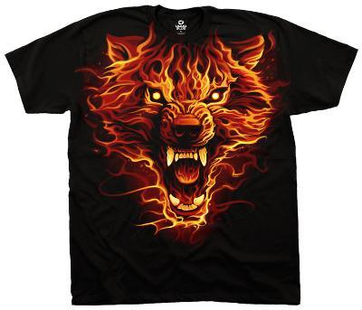 Fantasy- Fire Wolf