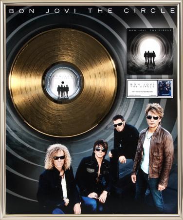 """Bon Jovi - """"The Circle"""" Gold LP"""