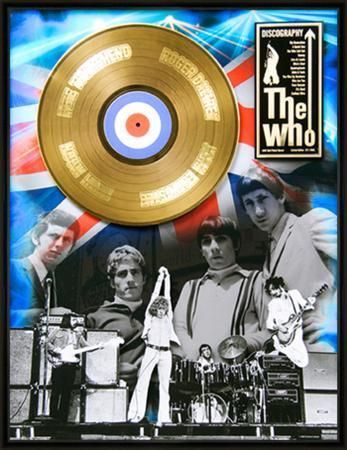 "The Who - ""Discography"" Gold LP"