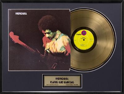 "Jimi Hendrix - ""Band Of Gypsys"" Gold LP"