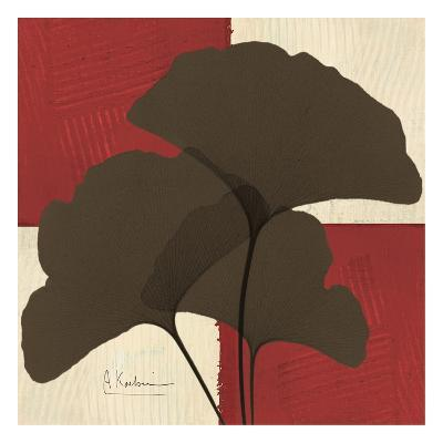 Ginkgo Brown Trio on Red