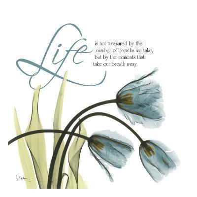 Swaying Tulips Blue, Life