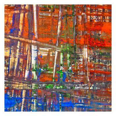Abstract Stripes, no. 4