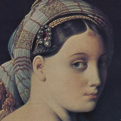 The Grand Odalisque (detail)