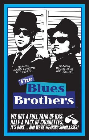 Blues Brothers Blacklight