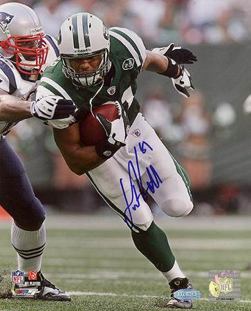 Dustin Keller Run After Catch vs Patriots Autographed Photo (Hand Signed Collectable)
