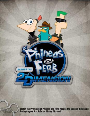 Phineas and Ferb: Across the Second Dimension
