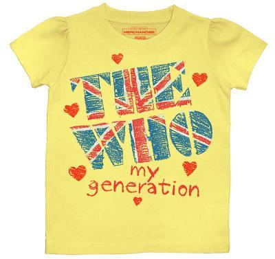 Toddler: The Who - My Generation