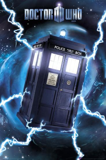Doctor Who Tardis Metallic Poster Print At Allposters