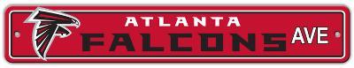 Atlanta Falcons Street Sign