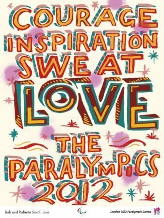 2012 Paralympic - Bob and Roberta Smith - Love 2012