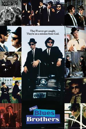 Blues Bros Collage
