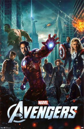 Avengers - One Sheet