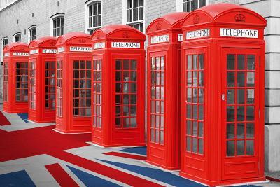 Phoneboxes-Union Flag