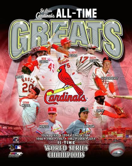 St Louis Cardinals All Time Greats Composite Photo At AllPosters