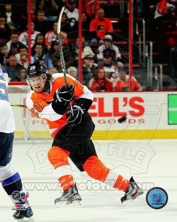 Claude Giroux 2011-12 Action