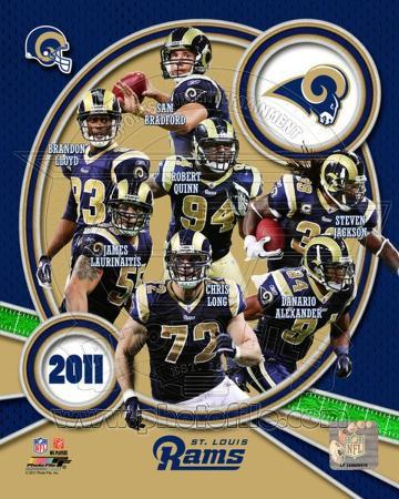 St. Louis Rams 2011 Team Composite