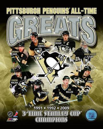 Pittsburgh Penguins All-Time Greats Composite