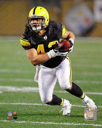 Troy Polamalu 2011 Action