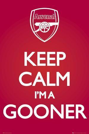 Arsenal-Keep Calm Red