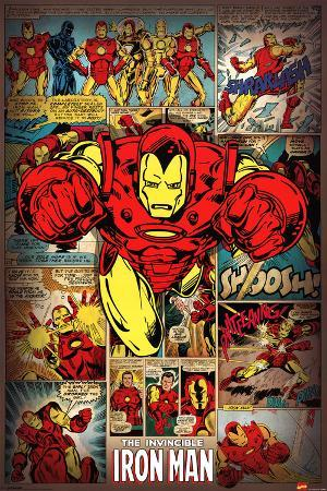 Marvel Comics-Iron Man-Retro