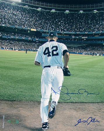 Mariano Rivera 2006 Entering The Game Color (Signed By Anthony Causi)