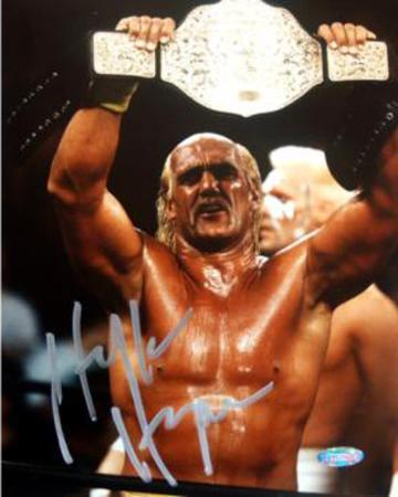 Hulk Hogan Raising Belt