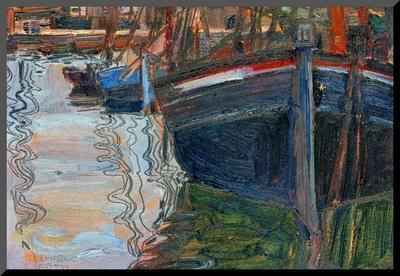 Boats Mirrored in the Water, 1908