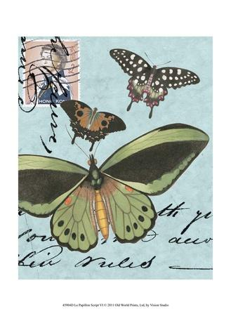 Le Papillon Script VI