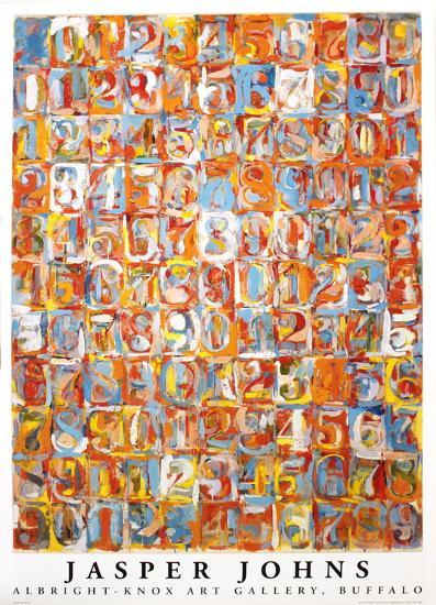 Numbers In Color Prints By Jasper Johns At Allposters Com