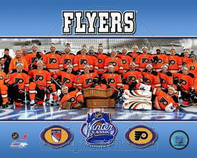 The Philadelphia Flyers 2012 NHL Winter Classic Team Photo