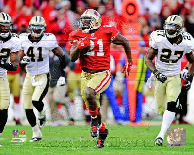 Frank Gore NFC Divisional Playoff Game Action