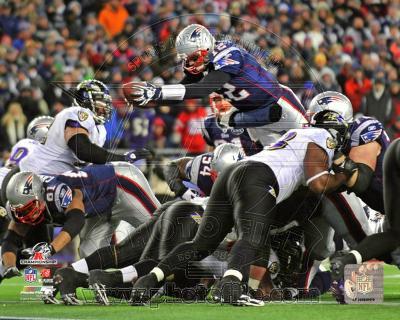 Tom Brady Touchdown run AFC Championship Game