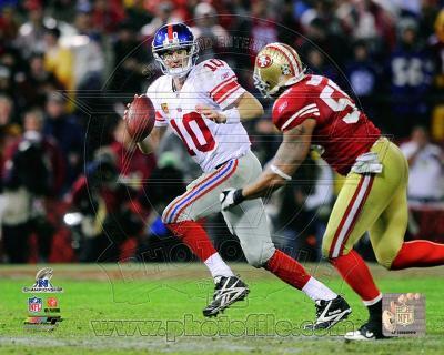 Eli Manning NFC Championship Game Action