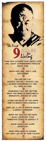 Dalai Lama - Rules for Living