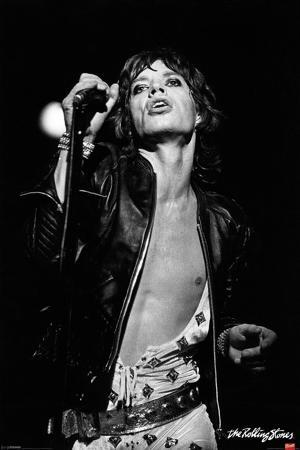 Rolling Stones- Mick Jagger-Icon