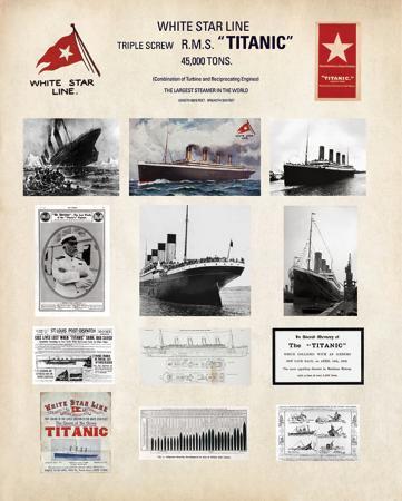 Titanic-Collage