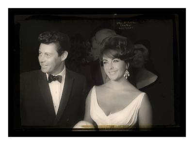 Elizabeth Taylor with Eddie Fisher