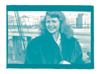 Rita Hayworth II In Colour