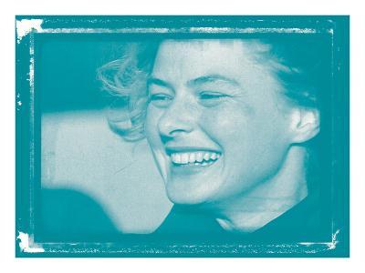 Ingrid Bergman In Colour